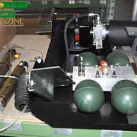 Il kit del sistema HPS, progettato per veicoli medicali e poi personalizzato per autocaravan