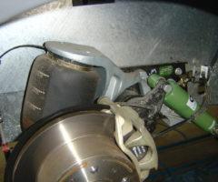ammortizzatore o.m.a. con sospensione pneumatica originale